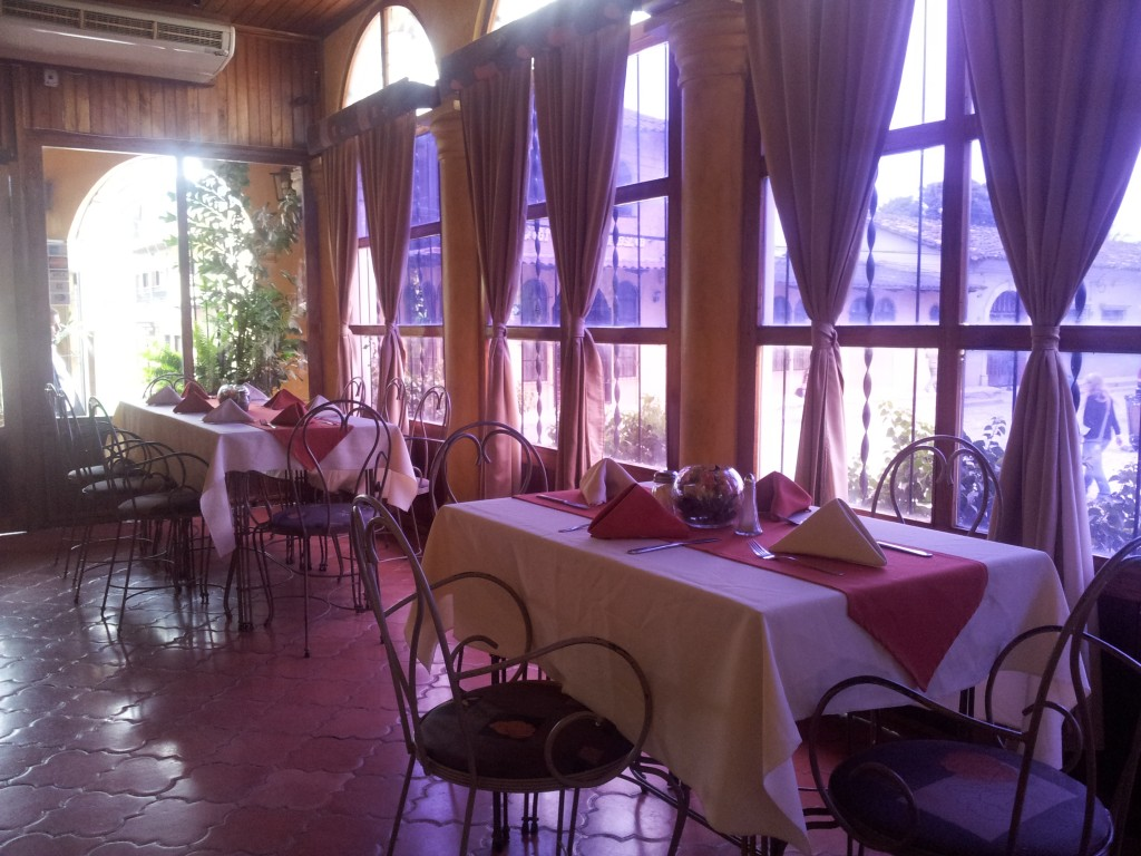 Copan-is restoranis (Honduras)