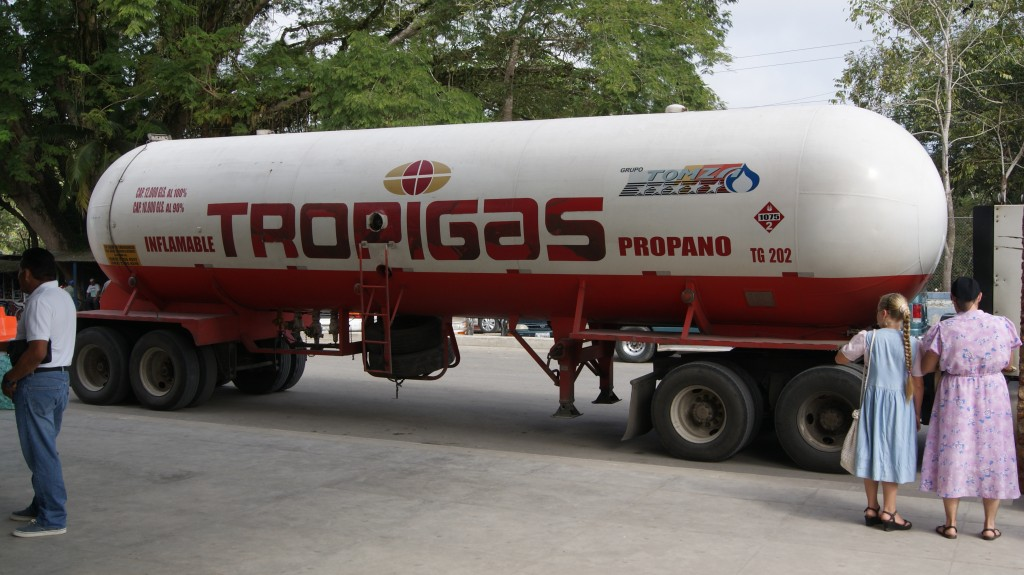 Vahel toodi isegi gaasi meile!