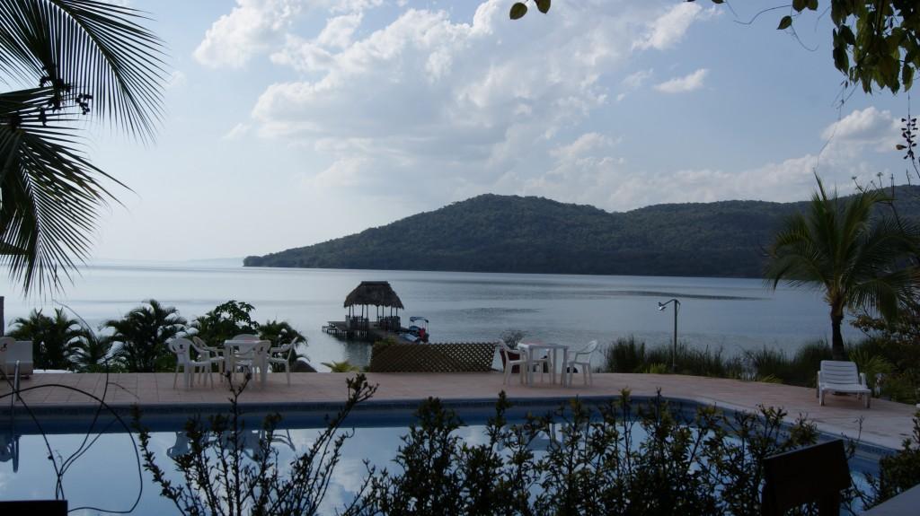 Peale Tikal-i käisime järve ääres nimega Lago Peten Itza!