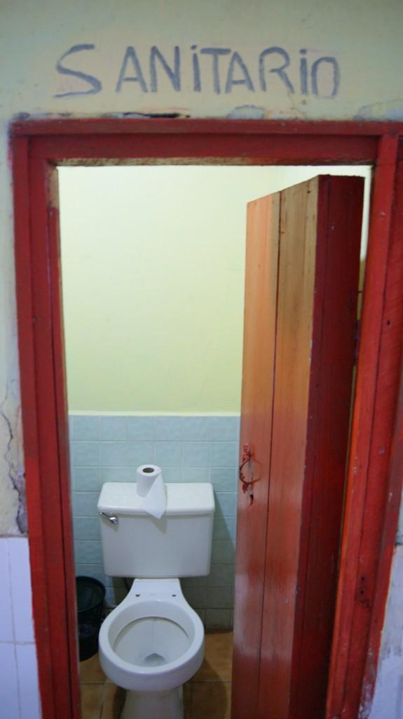 Kohalikus kõrtsus WC!