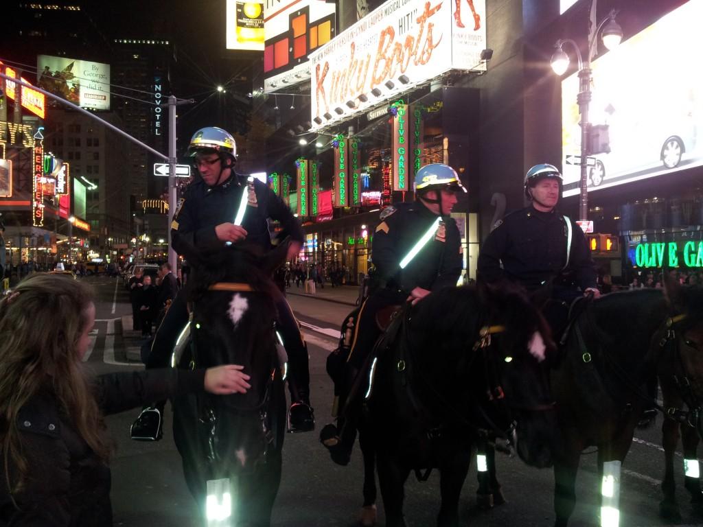 Hobupolitsei NYC-is!