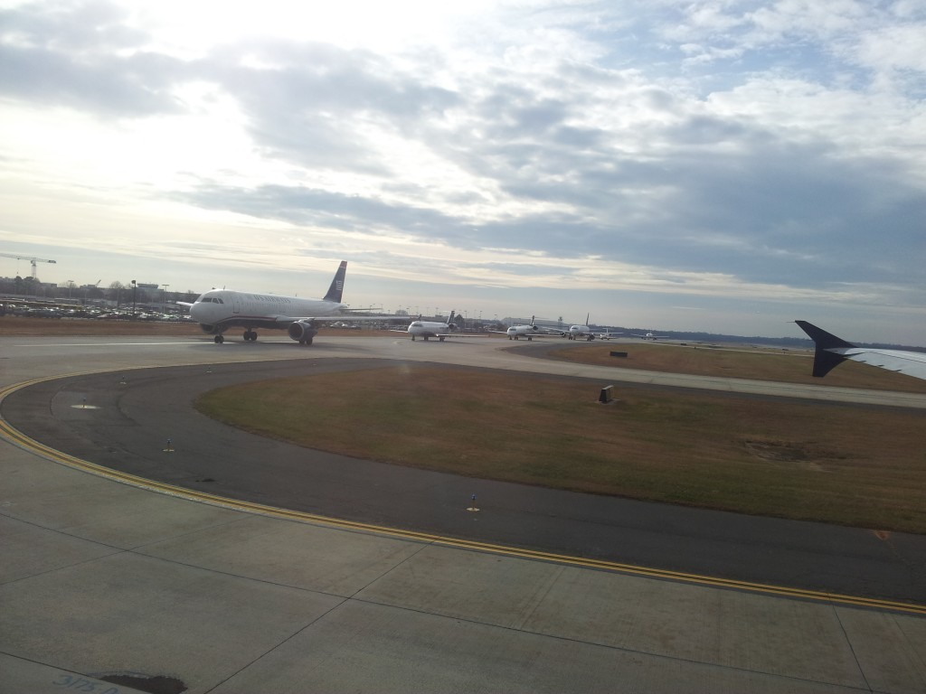 Õhkutõusmise järjekorras Charlottes!