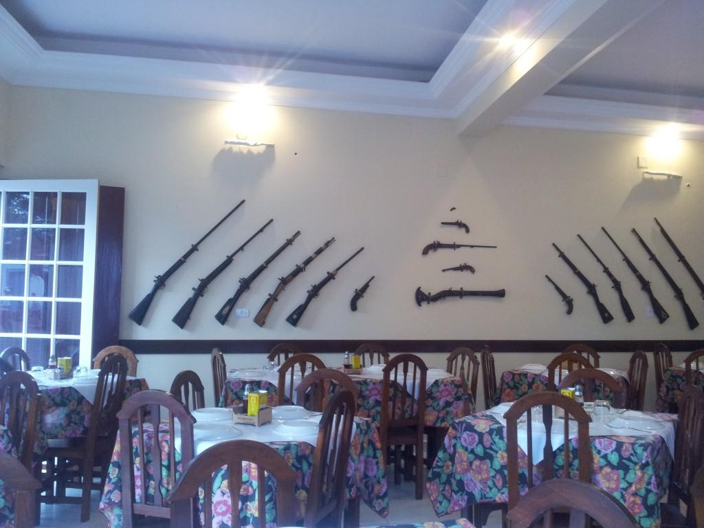 ... kohalik restoran!