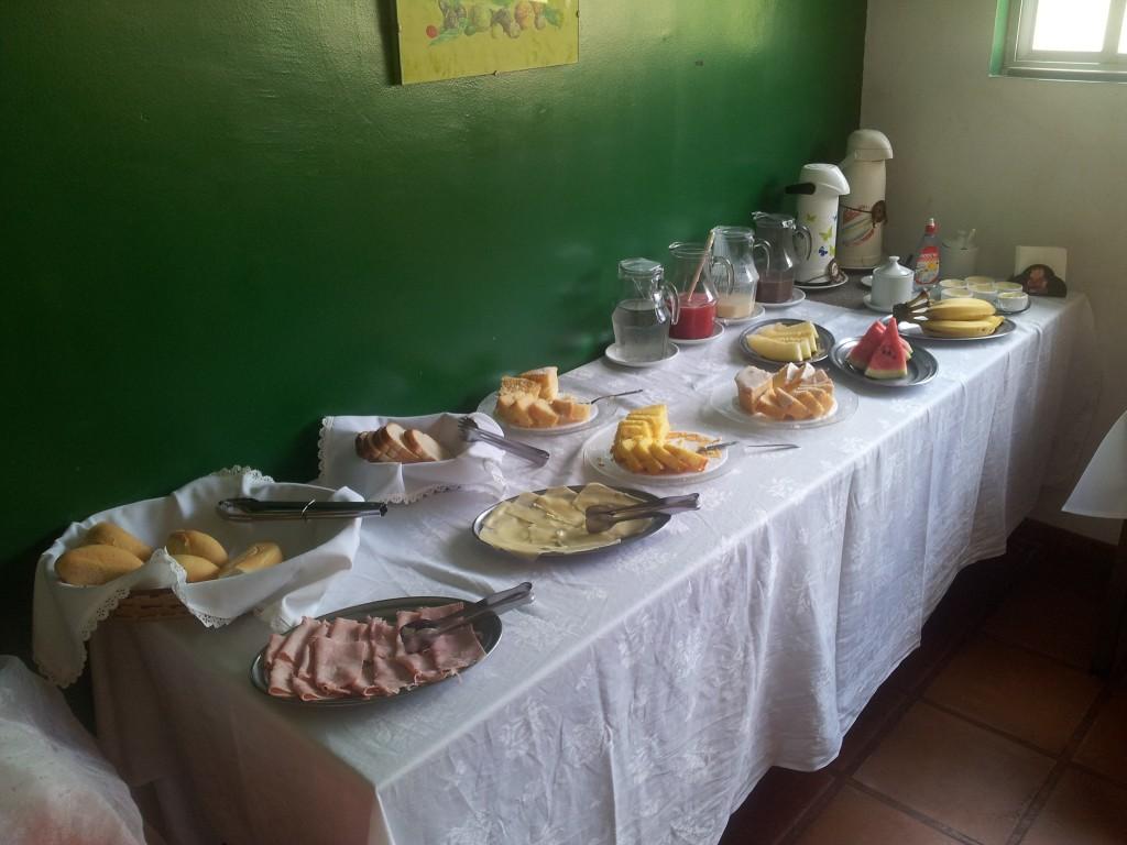 ... hommikusöök!