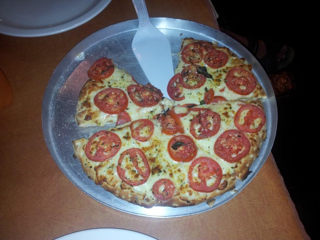 Guarapuavas õhtusöök, väga hea Pizza oli!