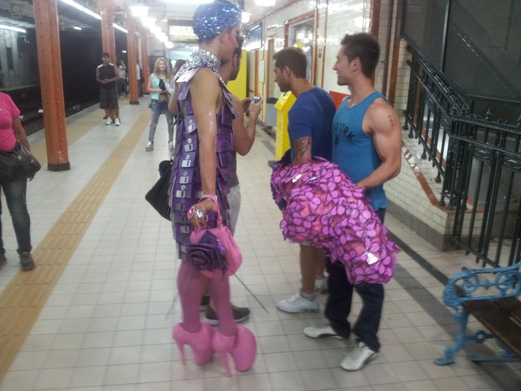 ... järelkaja metroos!