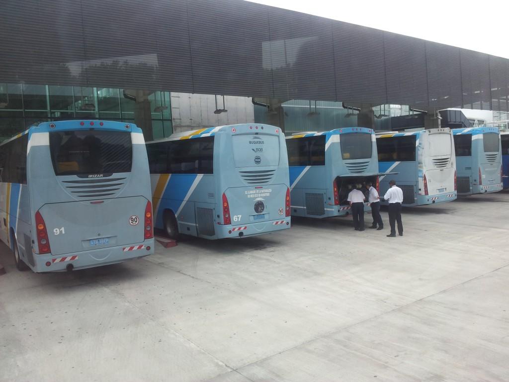 ...enne sõitma hakkamist Colonia bussijaamas!