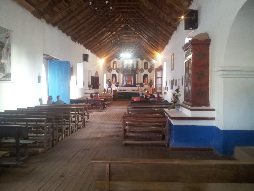 ... kirik San Pedro de Atacamas!