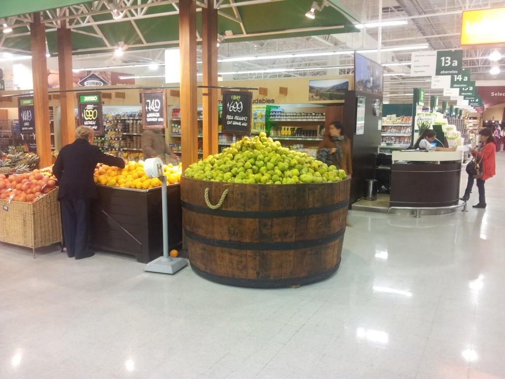 La Serena ja supermarket Jumbo!