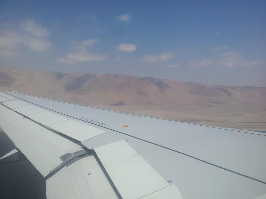 ... vahemaandumine Iquique-s (Tšiili, Peruu piiri lähistel!