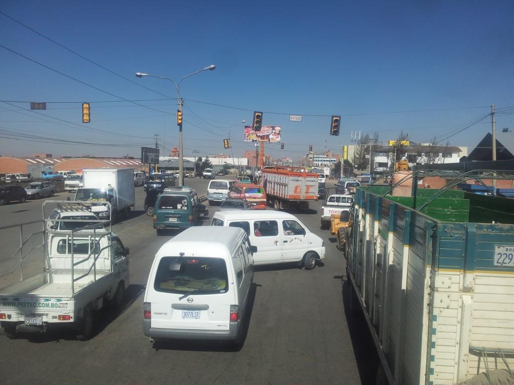 El Alto, ei saanudki aru kes kuhu tahab minna!