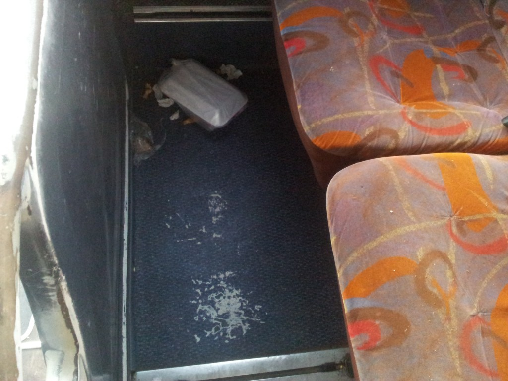 selline jääb buss kui reisijad lahkuvad!
