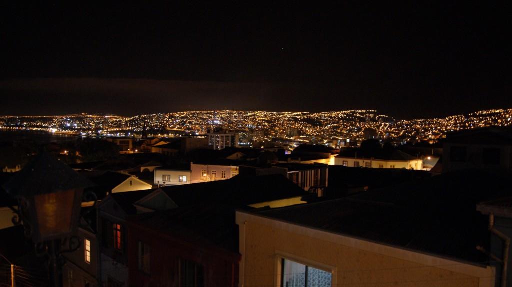 ... ja öine vaade sealt!