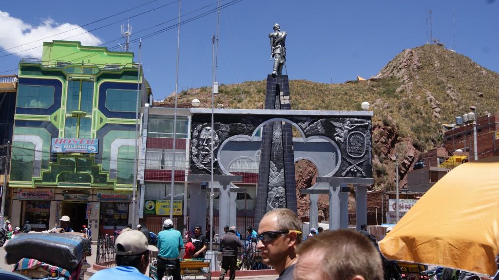 Boliivia-Peruu piir!