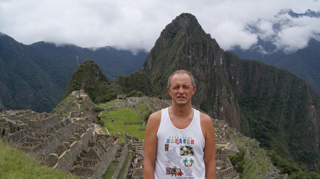 ... siin see Machu Picchu on!