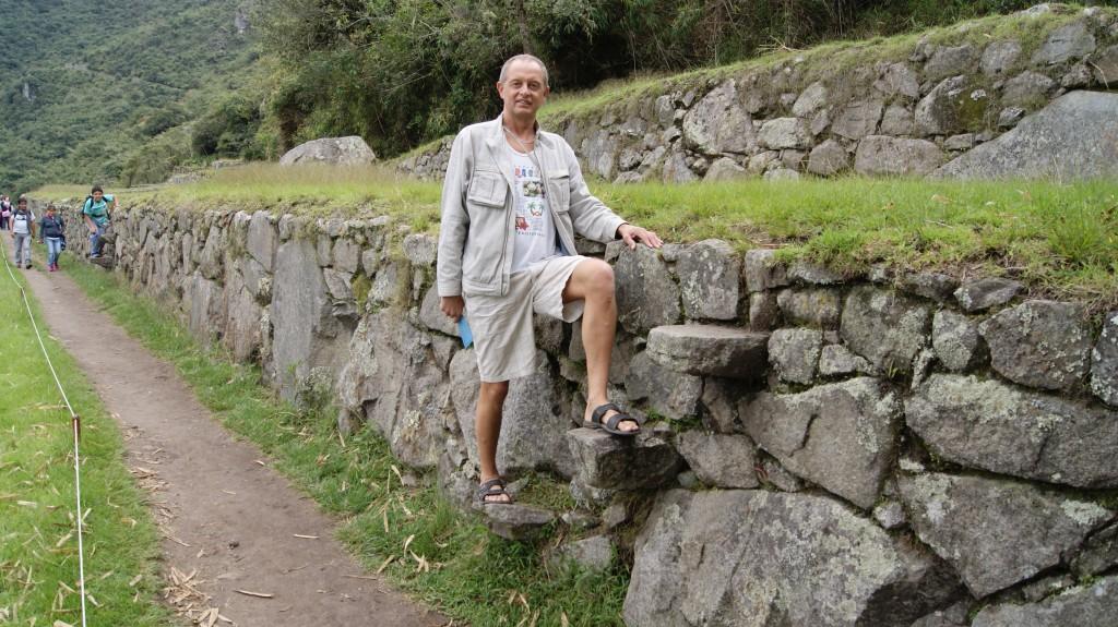 ...ega inkad lollid ei olnud, et otse saada pandi mõni pikem kivi müüri sisse!