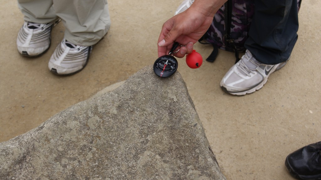 ... inkad tundsid siis juba kompassi, kuigi kivi näol oli põhja-lõuna suund määratud!