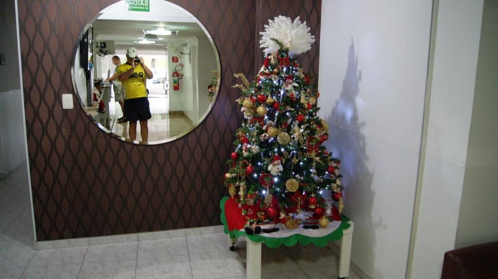 ... Sao Paulo hotellis olid jõulud juba!