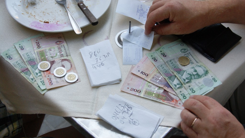 ... arve raha koos ja tipp veel peale!
