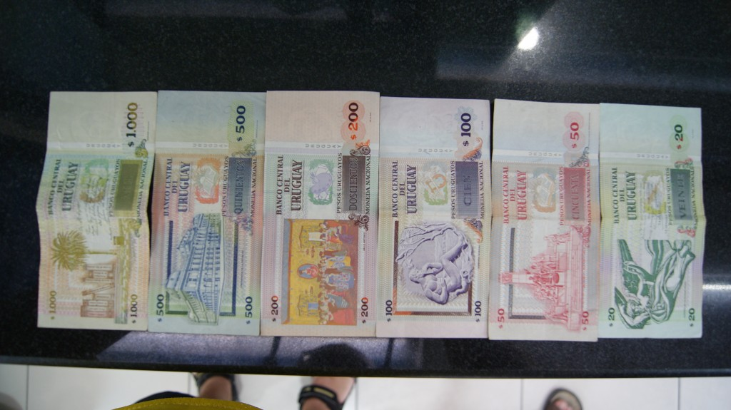 Uruguay rahatähed!