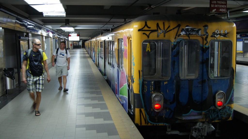 ... jälle metroosse!