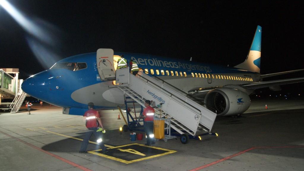 ... meie maandunud lennuk!