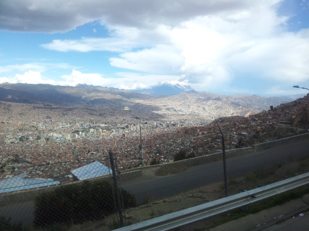 ... jälle La Paz!