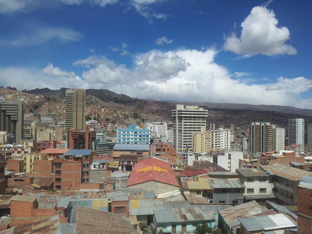 ... La Paz hotelliaknast!
