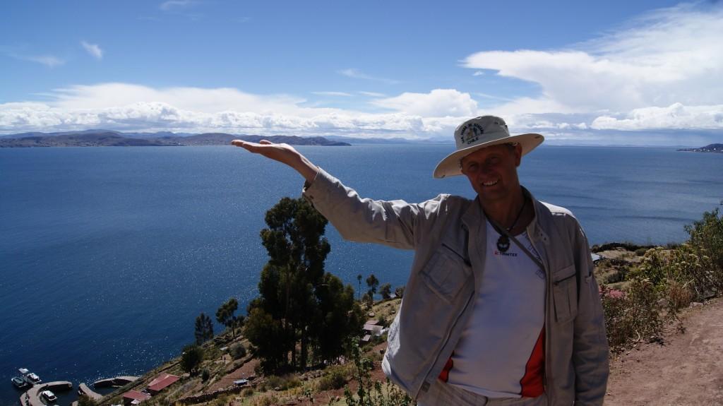... matkame mööda Taquile saart!