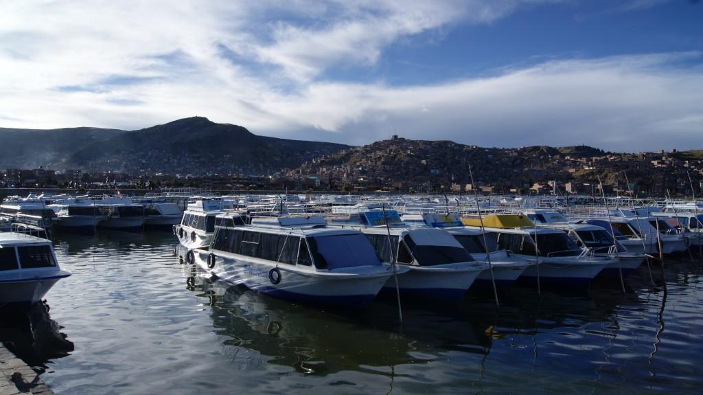 ... tagasi Puno sadamas!