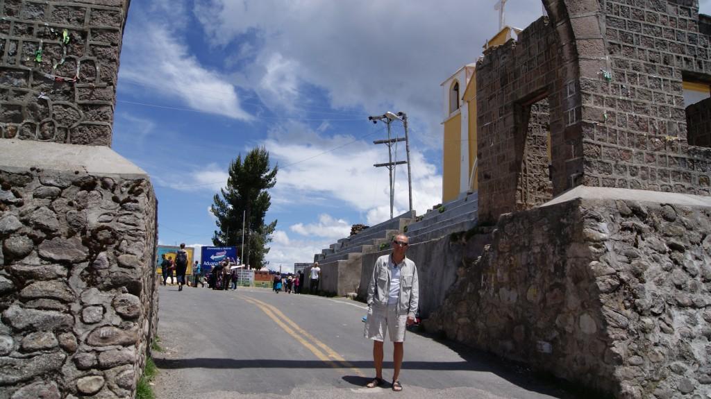 ... Peruu - Boliivia piir!